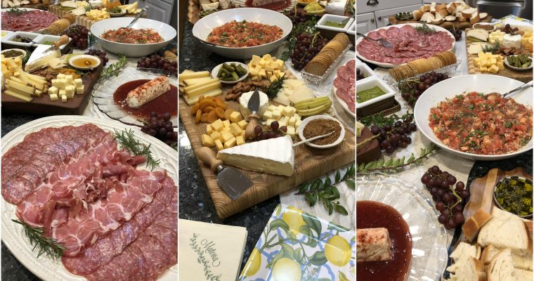 That's Amore – A Tuscan Themed Wedding Shower