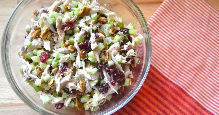 Cranberry and Pecan Chicken Salad
