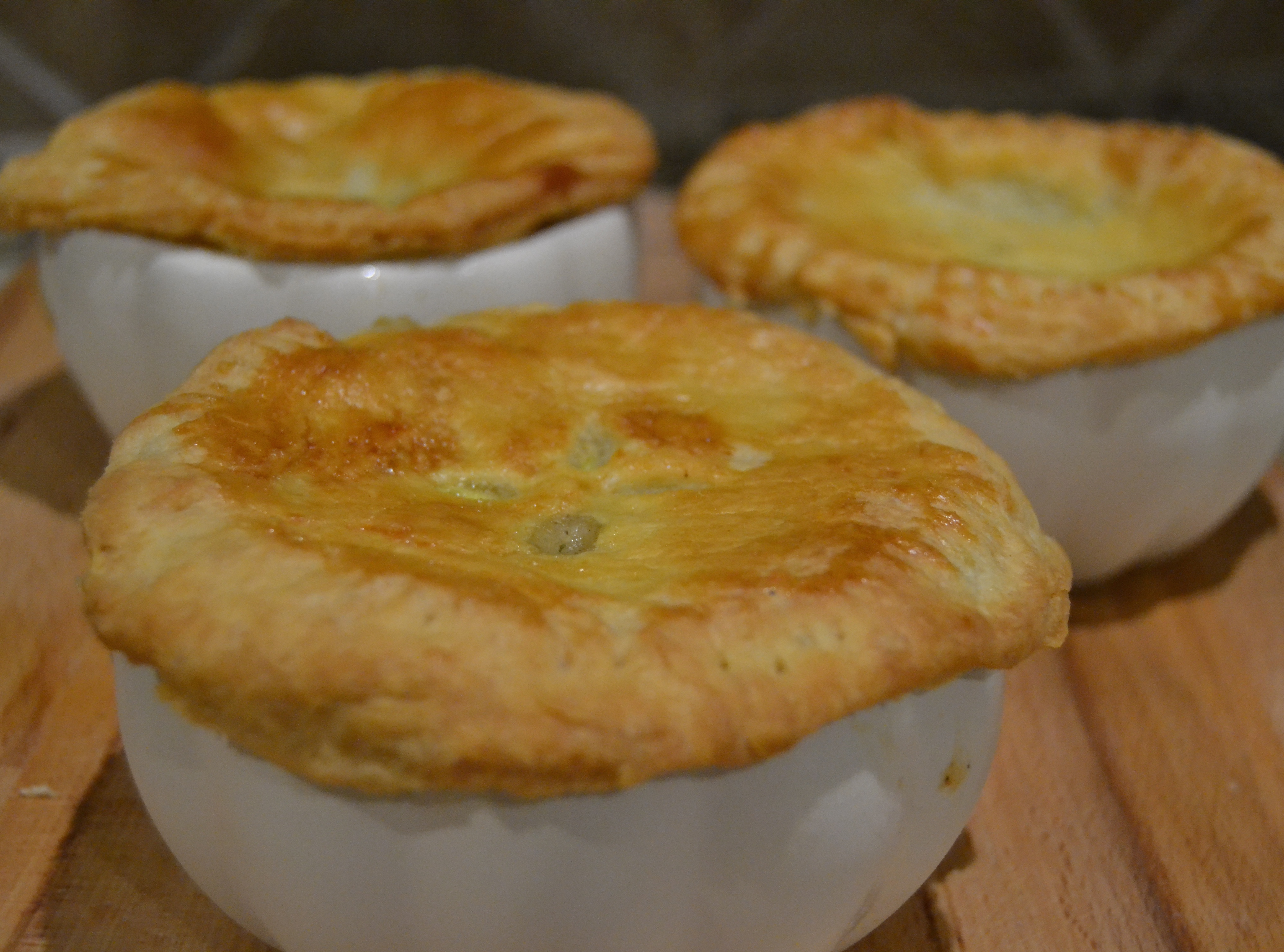 Chicken Pot Pie(s)